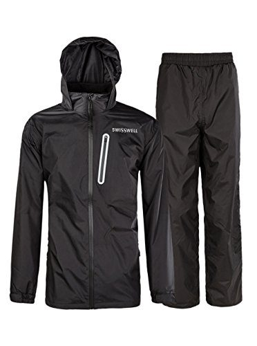 SWISSWELL Suit for Men Waterproof Rain Gear For Fishing
