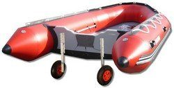 Inflatable Boat Launching Wheel by Saturn