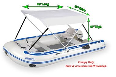 Wide Bimini Top for Inflatable Boats by Sea Eagle