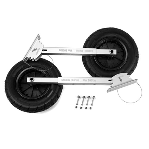 Seamax Deluxe 4 by 4 Boat Launching Wheels