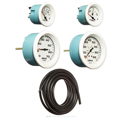 Sierra International Arctic 4 Gauge Boat Speedometer