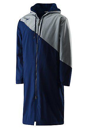 Men's Color Block Parka Jacket by Speedo