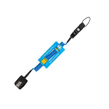Sticky Bumps Leash SUP Coil