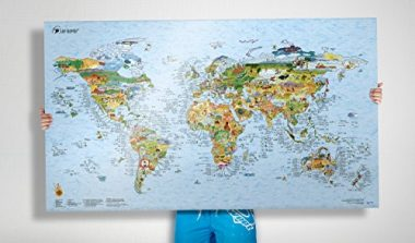 World Map By Surf Maps
