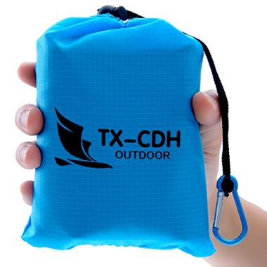 Tx-CDH Outdoor Pocket Beach Camping Blanket
