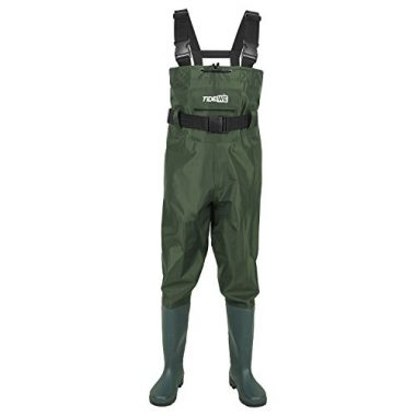 TideWe Bootfoot Chest Waterproof Fly Fishing Wader