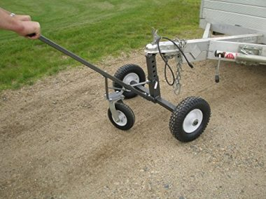 Tow Tuff Steel Frame with A Hammer-Tone Adjustable Trailer Dolly