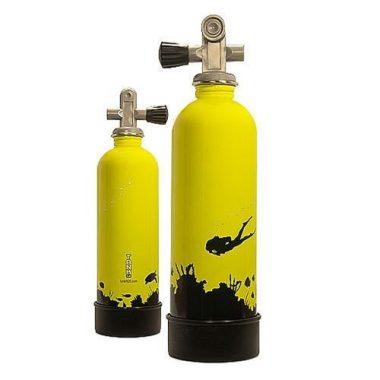 Trident Stainless Steel Scuba Tank Water Bottle