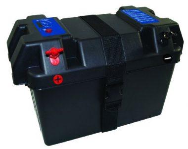 UPG 40790 Black Marine Battery Box