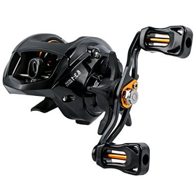 YONGZHI Fishing Reels Low Profile Baitcasting Reel for Freshwater and Saltwater