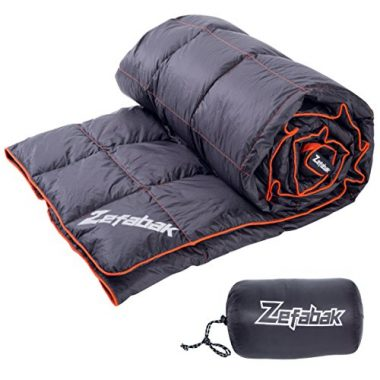 ZEFABAK 600 Fill Down Camping Blanket