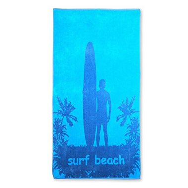 Cotton Beach Towel By eLuxurySupply