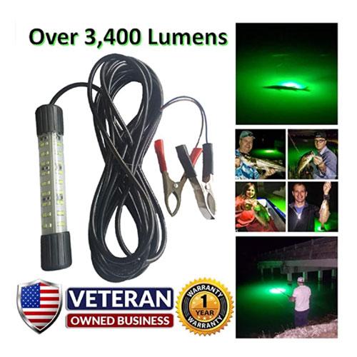 IllumiSea Ultra Bright Lumen Underwater Fishing Light