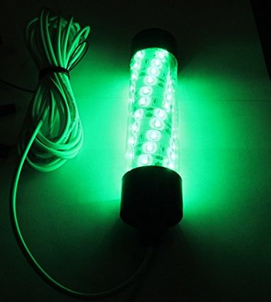 Glow Lion Large Green LED Underwater Fishing Light