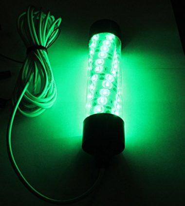 Glow Lion Large Green LED Underwater Night Fishing Light