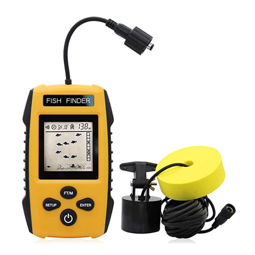 Ricank Contour Readout Portable Fish Finder