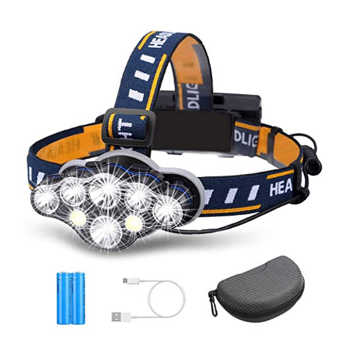 Outerdo LED Rechargeable Fishing Headlamp