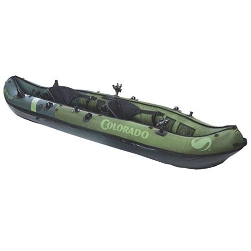 Sevylor Coleman Colorado Inflatable Angler Kayak