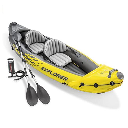 Intex Explorer K2 Inflatable Fishing Kayak
