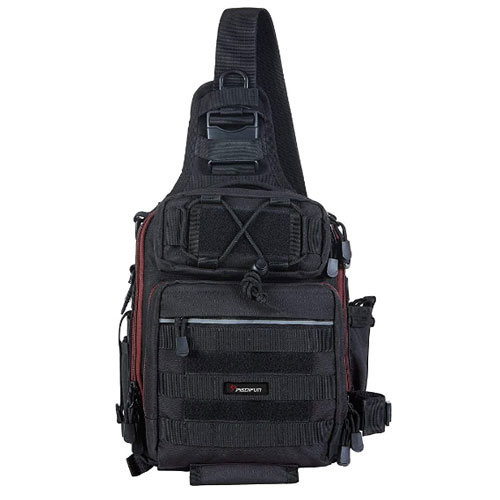 Piscifun Tackle Storage Fly Fishing Sling Pack