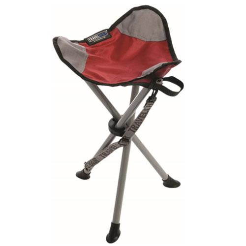 TravelChair Slacker Folding Tripod Camp Stool Fishing Chair