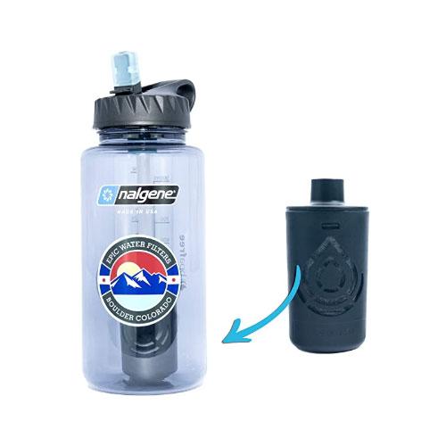 Epic Nalgene OG Wide Mouth Filtered Water Bottle