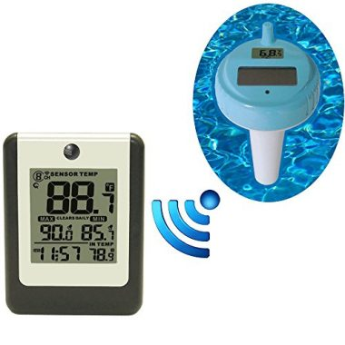 Ambient Weather Pool and Spa Thermometer Hot Tub Accessory