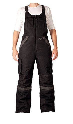 Arctix Men's Overalls Tundra Bib With Added Visibility