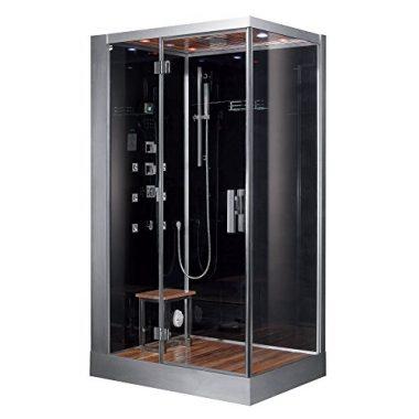 Platinum DZ959F8-BLK-L Steam Shower By Ariel