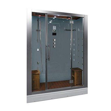 Ariel Platinum DZ972-1F8-W Steam Shower