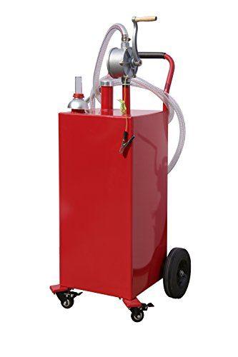 Arksen 35-Gallon Portable Storage w/Pump Boat Fuel Tank