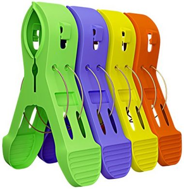 Attmu 12 Pack Beach Towel Clips