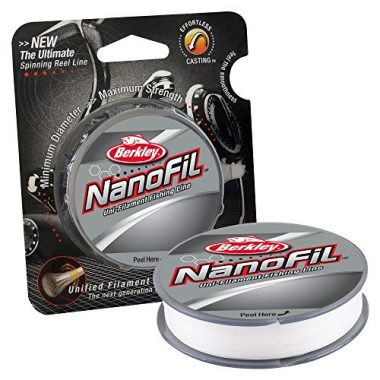 Berkley NanoFil Uni Filament Braided Fishing Line