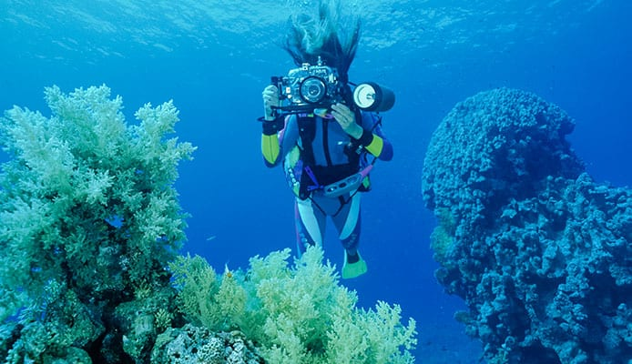 Underwater amateur camera equipment foto 798