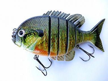 Soljer Blue Gill Sun Fish Panfish Talipia for Bass Fishing Lure