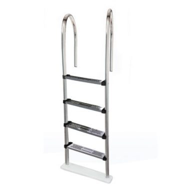 Blue Wave Premium Stainless Steel Above Ground Pool Ladder