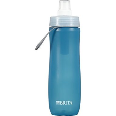 Brita 20 Ounce Sport Water Bottle with Filter