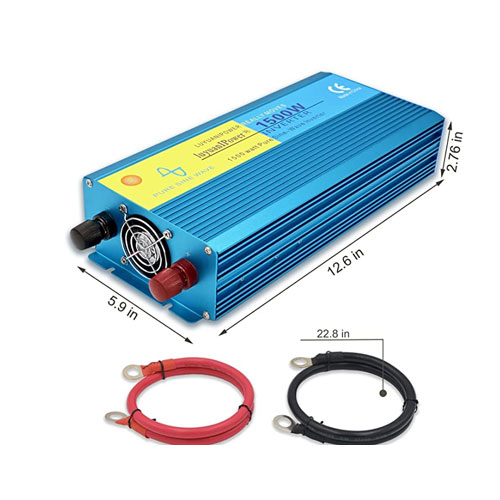 Cantonape 1500W Pure Sine Wave Marine Power Inverter