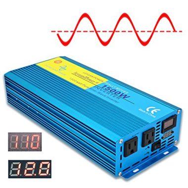 1500W Pure Sine Wave Power Inverter by Cantonape