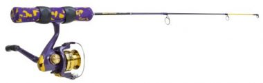 Celsius Team Fish TMP110/28M 28 Reel Combo and Ice Fishing Rod