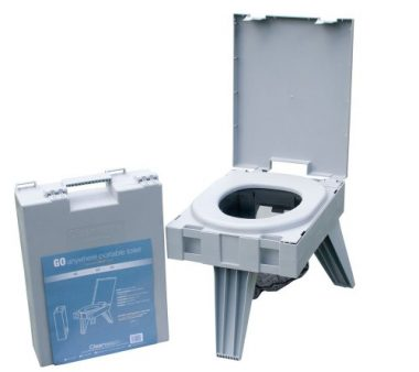 Portable Toilet with Waste Kit by Cleanwaste