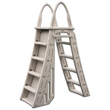 Confer Plastics Adjustable Roll-Guard Above Ground Pool Ladder