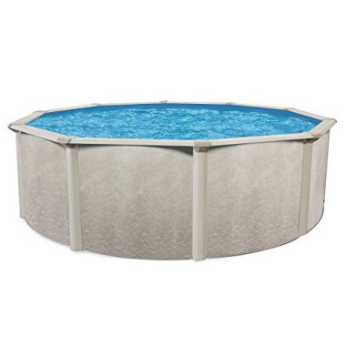 Cornelius Pools Phoenix 24′ x 52″ Round Steel Frame Above Ground Swimming Pool