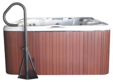 Cover Valet – Side Hot Tub Handrail
