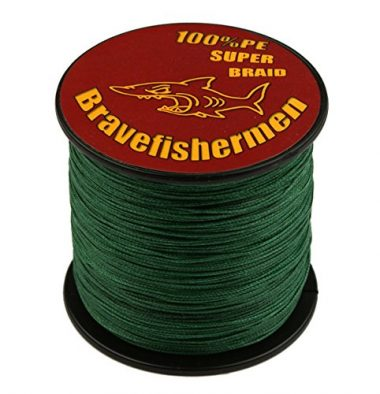 Bravefishermen Super Strong PE Braided Fishing Line