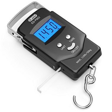 Dr.meter Electronic Balance Digital Hanging Hook Fish Scale