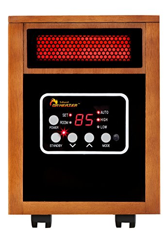 Dr Heater Infrared Portable 1500W Infrared Heater