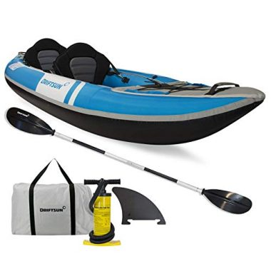 Driftsun Voyager 2 Person Inflatable Fishing Kayak
