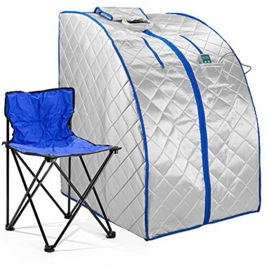 Durasage Infrared IR Indoor Personal Spa Portable Sauna