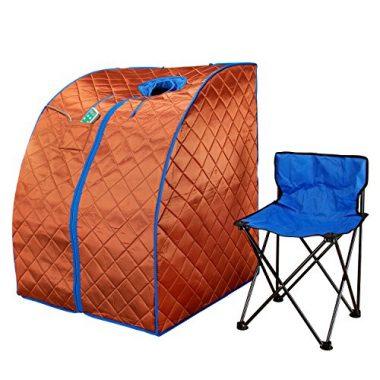 Durherm Infrared Low EMF Negative Ion Portable Sauna